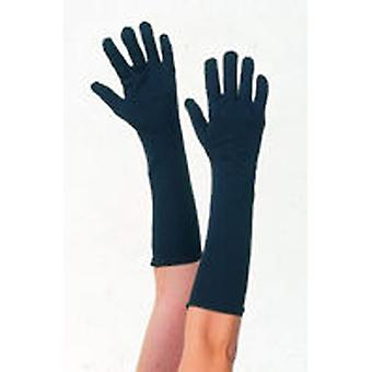 Guirca Long Glove Black Adult (Kostuums)
