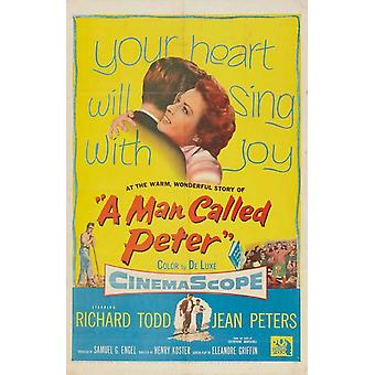 A Man Called Peter Movie Poster Print (27 x 40)