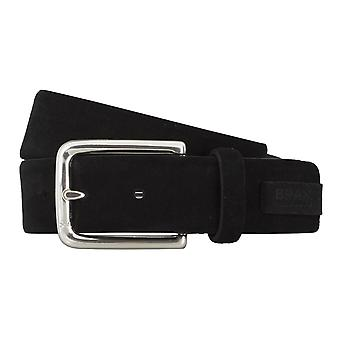 BRAX belts men's belts leather belt leather black 4691