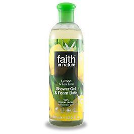 Faith In Nature - Lemon & Tea Tree Shower Gel/FB 400ml