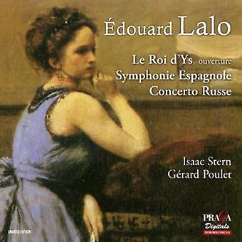E. Lalo - Douard Lalo: Le Roi D'Ys Overture; Symfoni Espagnole; Concerto Russe [SACD] USA import