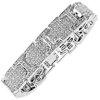 Iced out bling hiphop armband armband - ICE LINK