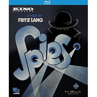 Spies [Blu-ray] USA importerer