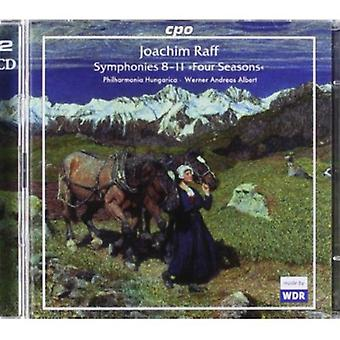 J. Raff - Raff: Symphonies 8 - 11 Four Seasons [CD] USA import