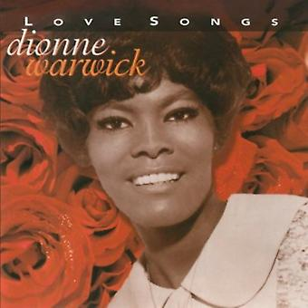Dionne Warwick - Love Songs [CD] USA import