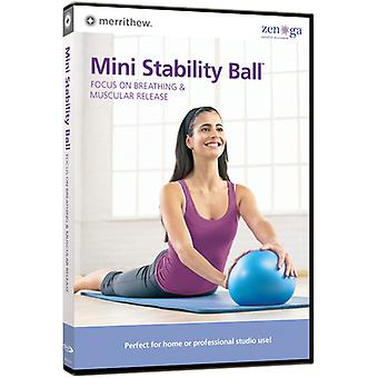 Mini Stability Ball: Focus on Breathing & Muscular [DVD] USA import