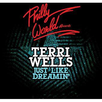 Terri Wells - Just Like Dreamin' [CD] USA import