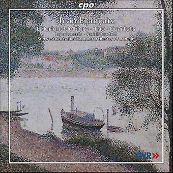 J. Francaix - Jean Fran Aix: L'Horlage De Flore; Trio; Importación de cuartetos [CD] Estados Unidos