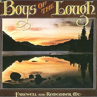 Boys of the Lough - Farewell & Remember Me [CD] USA import