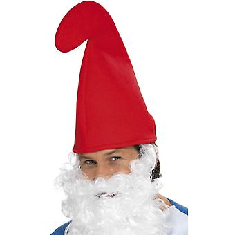 Dwarf Hat dwarf fairy GNOME Hat Cap Red