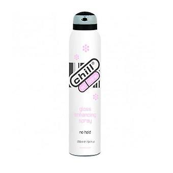 Chill Chill Ed Shine Gloss styrkelse Spray