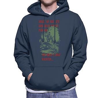 Most Of My Life Has Been Fishing Men's Hooded Sweatshirt