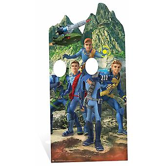 Thunderbirds International Rescue Adult Stand-In Cardboard Cutout