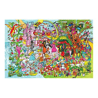 Bigjigs Toys Fantasyland Floor Puzzle (24 Piece)