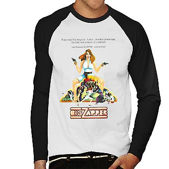 Big Zapper Lisa Marlowe Sexy Private Eye Men's Baseball Long Sleeved T-Shirt