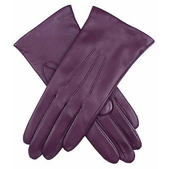 Dents Emma Classic Hairsheep Leather Gloves - Thistle