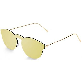Ocean Berlin Flat Lense Sunglasses - Gold