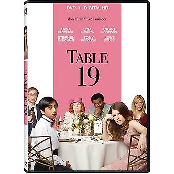 Table 19 [DVD] USA import