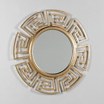 Wellindal Espejo 88x3 Aluminio Dorado (Home , Decoration , Mirrors)