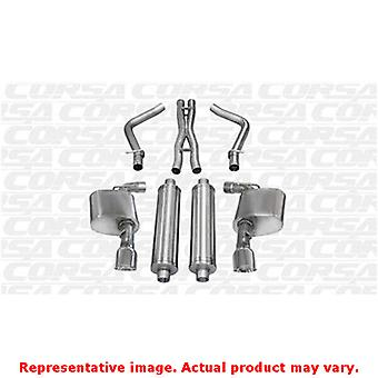 CORSA Performance Cat Back Exhaust 14464 Polished Fits:CHRYSLER 2012 - 2014 300