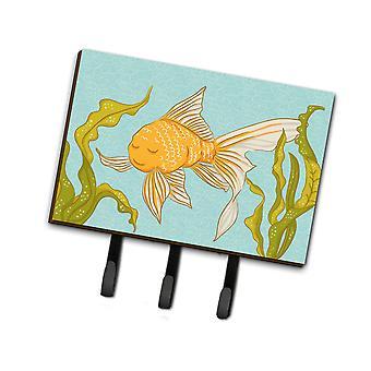 Carolines skarby BB8544TH68 złotą rybkę smycz lub breloczek