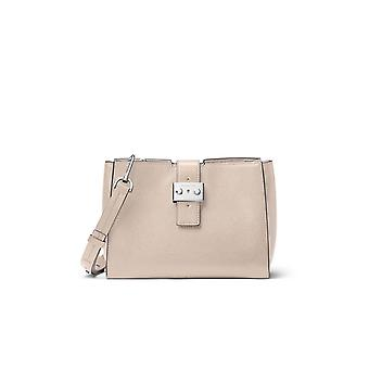 MICHAEL KORS BOND MEDIUM MESSENGER CEMENT BAG