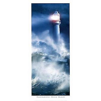 The Lighthouse Poster Print by Steve Bloom (20 x 40)