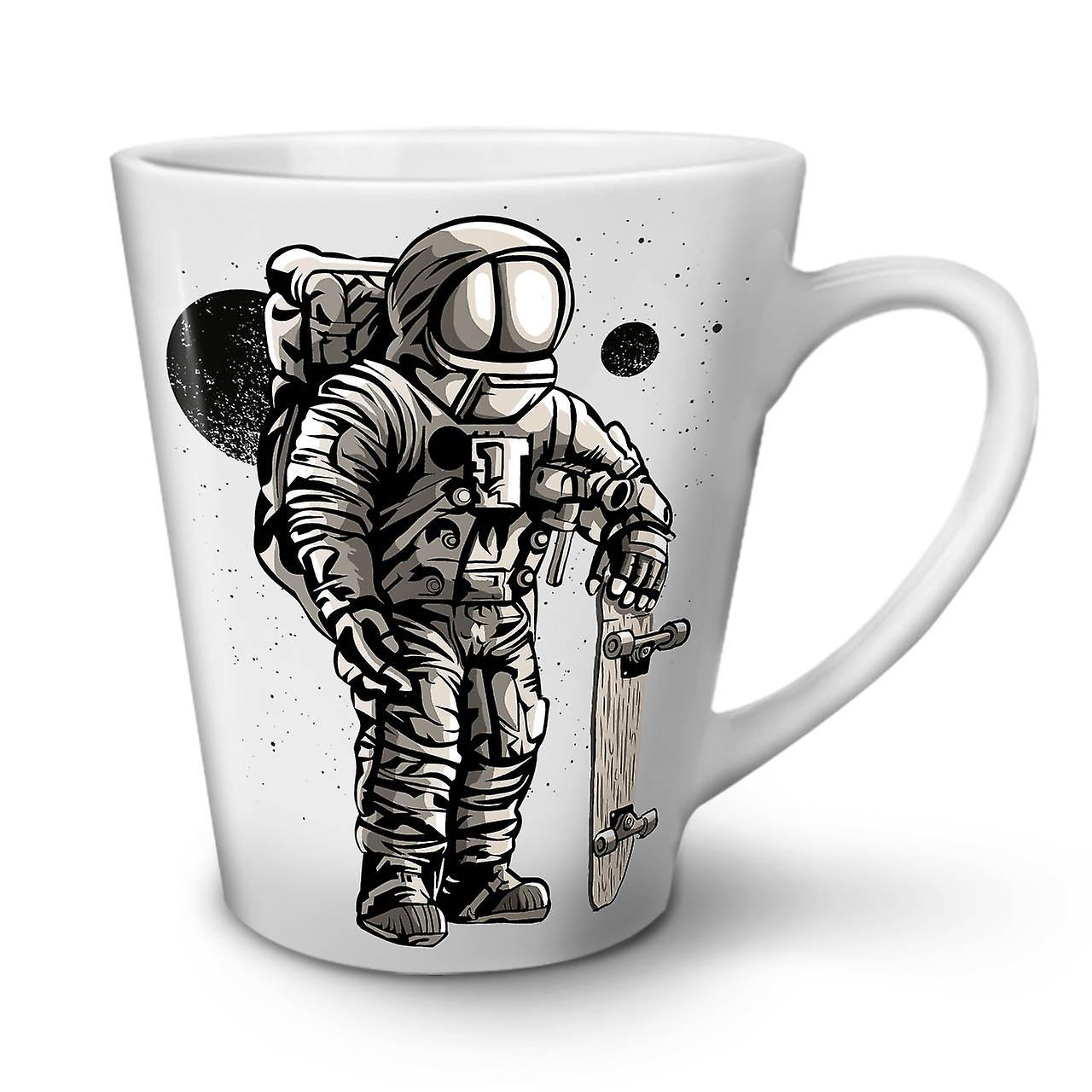 Espace Fashion 12 Moon Latte En Café Nouvelle Céramique OzWellcoda Patineur Blanche Tasse JF3KTl1c