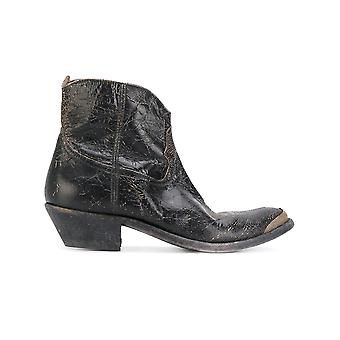 Golden Goose women's G31WS274B3 brown leather ankle boots