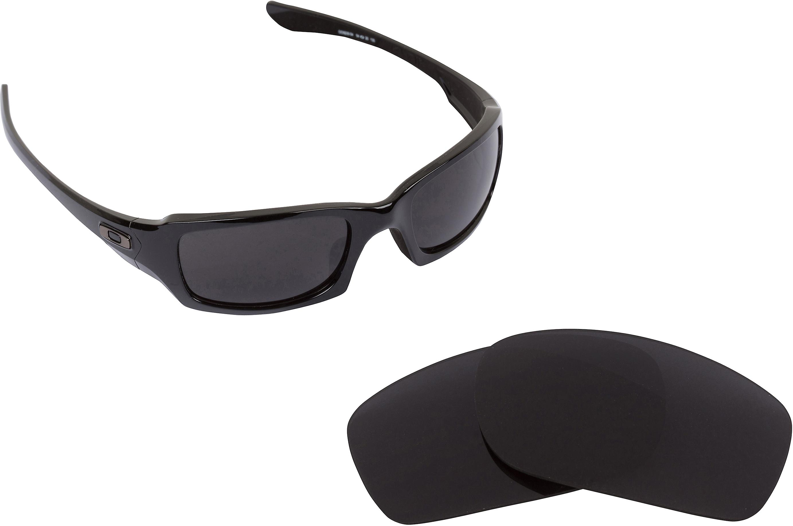 Best SEEK Polarized Replacement Lenses for Oakley Sunglasses FIVES SQUARED Black