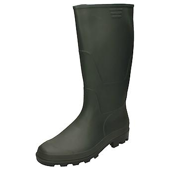 Mens Spot On Wellington Boot