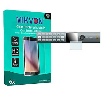 Blackmagic MultiView 16 Screen Protector - Mikvon Clear (detalj-pakke med tilbehør)