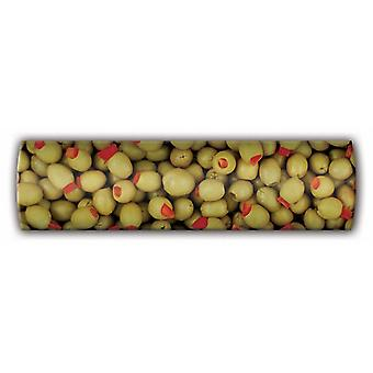 Green Olive Magnetic Linear Board Notice Board Magnets, not pins