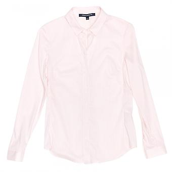 French Connection French Connection Eastside Cotton Stripe Ls Cl Shirt