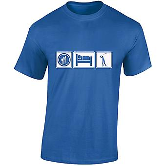 Eat Sleep Golf Mens T-Shirt 10 Colours (S-3XL) by swagwear