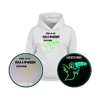 This Is My Halloween Costume GLOW IN THE DARK Kids Hoodie 10 Colours (S-XL) by swagwear