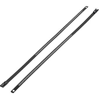 Cable tie 610 mm Black Coated KSS ASTN-610