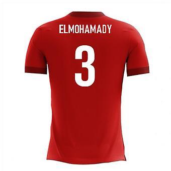 2018-2019年エジプト アイロ コンセプト ホーム t シャツ (ElMohamady 3)