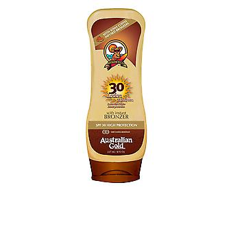 Australian Gold Sunscreen Spf30 Lotion With Bronzer 237ml Unisex