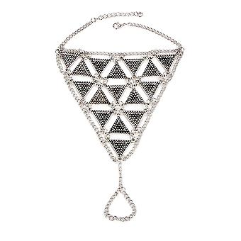 Foot Triangle Bohemia stainless steel jewelry