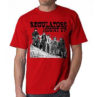 Young Guns Mount op mænds rød T-shirt