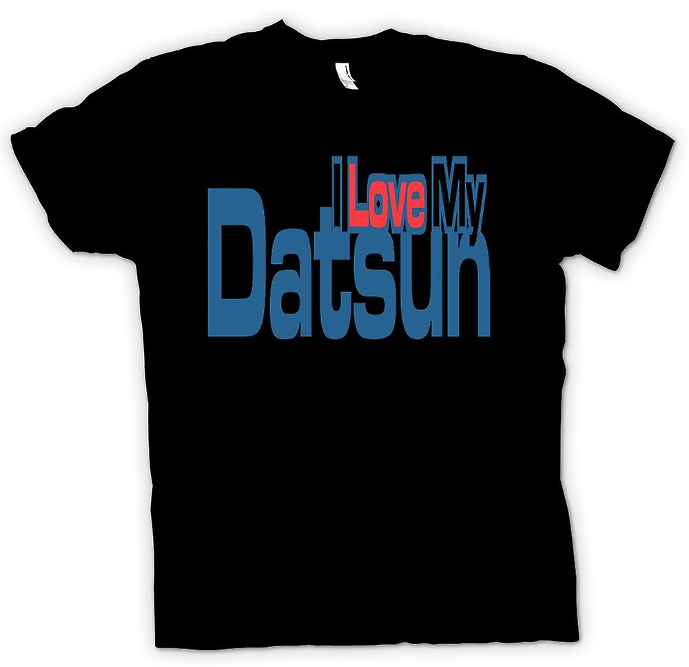 Womens T-shirt - I Love My Datsun - Car Enthusiast