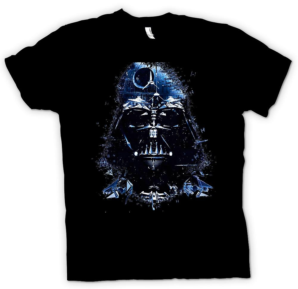 Womens T-shirt - Darth Vader - Todesstern