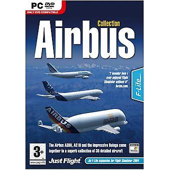 Airbus samling FS 2004FSX (PC DVD)