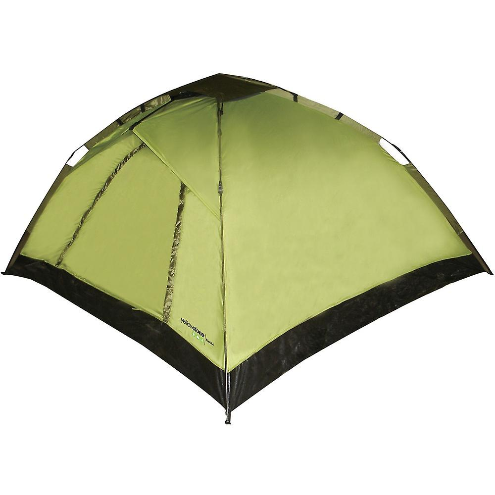 Yellowstone Rapid 4 Man Tent 2 Season Outdoor Equipment for Camping