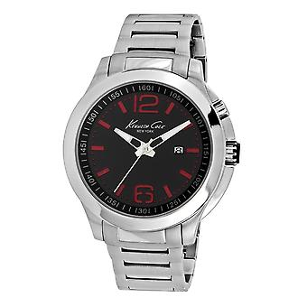Kenneth Cole New York men's wrist watch analog stainless steel 10022557
