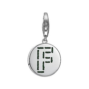 ESPRIT pendant of charms silver letter fabric F ESCH91128A000