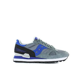 SAUCONY ORIGINALS JAZZ GREY/BLUE SNEAKER