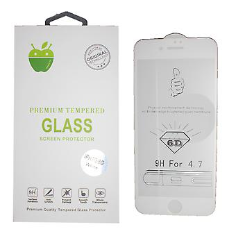 Wit Premium getemperd glas voor iPhone 7/8