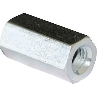PB Fastener S58050X40 Spacer (L) 40 mm M5 x 11 Steel zinc plated 10 pc(s)
